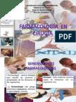 Farmacologia en Cirugia