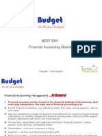 ERP Software - Financial Accounting Module Proposal