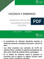Violencia y Emabarazo Final