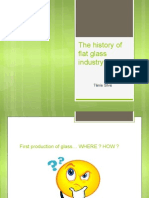 Chronology of Flat Glass Industry