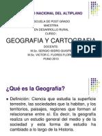 Presentacion Introduccion a La Geografia y Cartografia