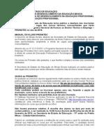 Manual Pronatec 2014