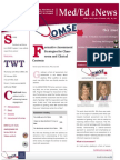 UA OMSE Med/Ed eNews v2 No. 07 (Feb 2014)