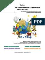 Productos Edu Ambiental III - Enrique