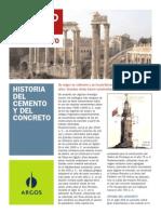 Historia Del Cemento y Del Concreto