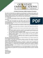 CPNI Compliance Procedures JAN14