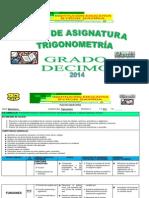 PLAN DE TRIGONOMETRIA 10°