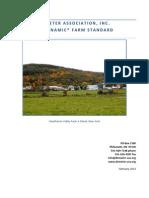 Demeter Farm Standard