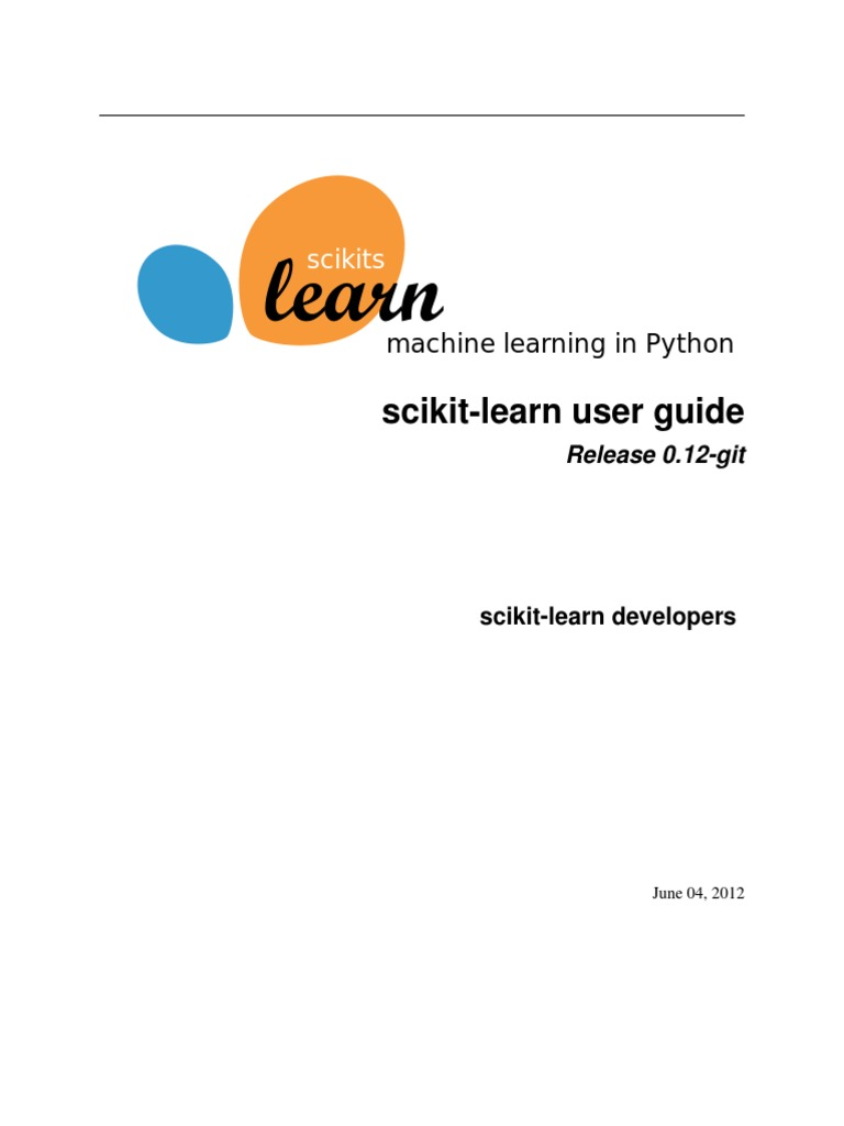 Scikit Learn User Guide 0 12 | Support Vector Machine | Test Set