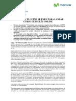 060214NP_MOVISTAR Y EL ICPNA SE UNEN P ARA LANZAR CURSO DE INGLÉS ONLINE_