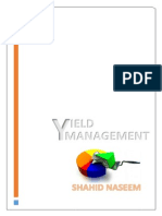Yield Management in Aviation