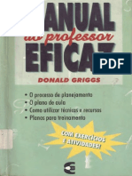 Donald Griggs - Manual Do Professor Eficaz
