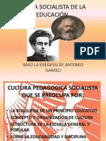 TEORÍA SOCIALISTA DE LA EDUCACIÓN