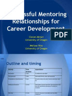 Successful Mentoring Relationships for Career Development (205259026)