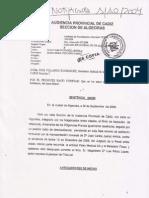 Sentencia de la Audiencia Provincial que ratifica la condena a seis meses de inhabilitación