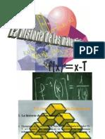 La history of matematicas