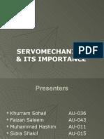 Servomechanism Presentation MCS_1
