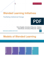 Blended Learning Initiatives