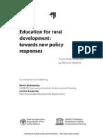 Education for Rural Development