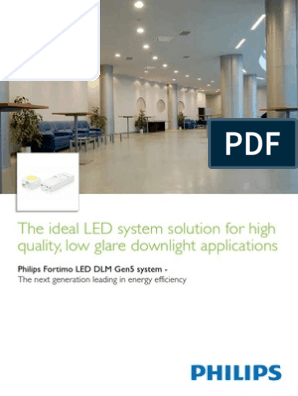 LED Module Philips Fortimo LED DLM 1100 10W//840 Gen5