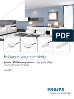 Philips Leaflet Fortimo LED Decorative Modules