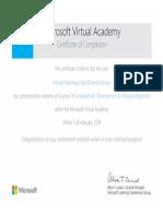 Certificate CSharp