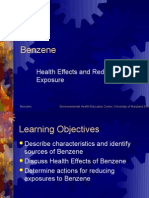 Health Effects and Reducing Exposure