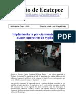 Diario de Ecatepec (Noticias de Enero)