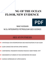 Ocean Floor Spreading New Evidence