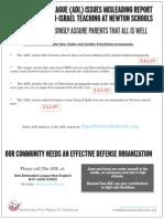 Jewish Advocate Centerfold Ad ADL-Hamas-Spritzler