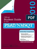 PSAT Student_guide 2010
