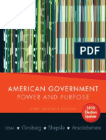 American Government- Power and Purpose , Core 11th Edition 2010 Election Update    2010.pdf