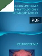 INTRODUCCION SINDROMES DERMATOLÓGICOS Y DERMATITIS ATÓPICA 2.pptx