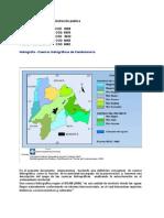 cuencas hidrográficas de cundinamarca