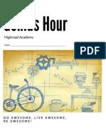 Genius Hour Planning Document