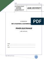 Final Lab (06ESL48) Final Manual