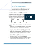 RF fault measurement
