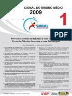 Enem 2009 - Prova Oficial Vazada