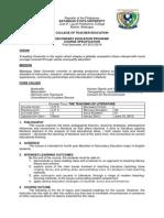 Specification 1st Sem Lit 4