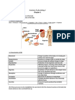 Anatomy Ch. 1