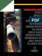 Sewer Bedding Standard Installation Method