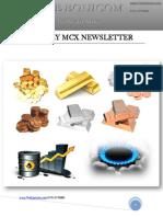 Daily MCX News Updates by TheEquicom 07-Feb-14