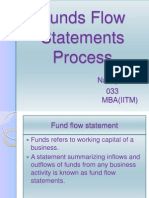Funds Flow Statements Process