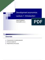 Devecon Lecture1 Introduction