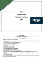 APS Payables Basic Training