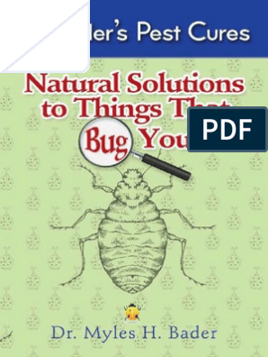 Dr  Bader - Solutions to Things That Bugs You | Ant | Beetle