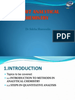 Analytical Chemistry (2)