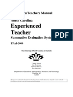 Evaluators Manual