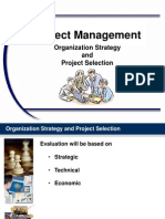 PM Chapter 02 Organization Strategy and Project Selection