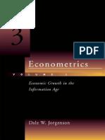 Jorgenson D.W. Econometrics (MIT, 2000)(ISBN 0262100940)(493s)_GL